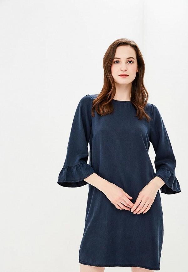 Купить Платье Vero Moda, VE389EWZKT53, синий, Весна-лето 2018