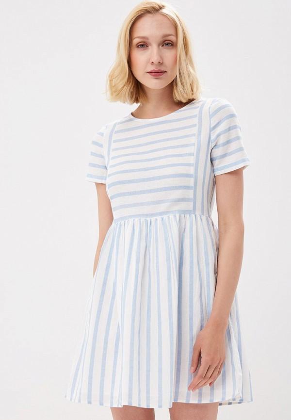 Купить Платье Vero Moda, VE389EWZKT84, белый, Весна-лето 2018
