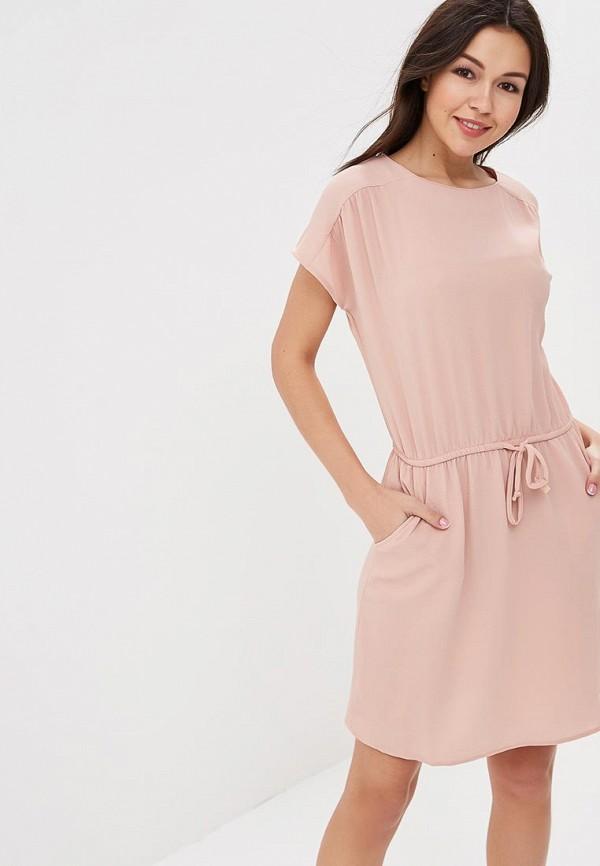 Купить Платье Vero Moda, VE389EWZKU03, бежевый, Весна-лето 2018