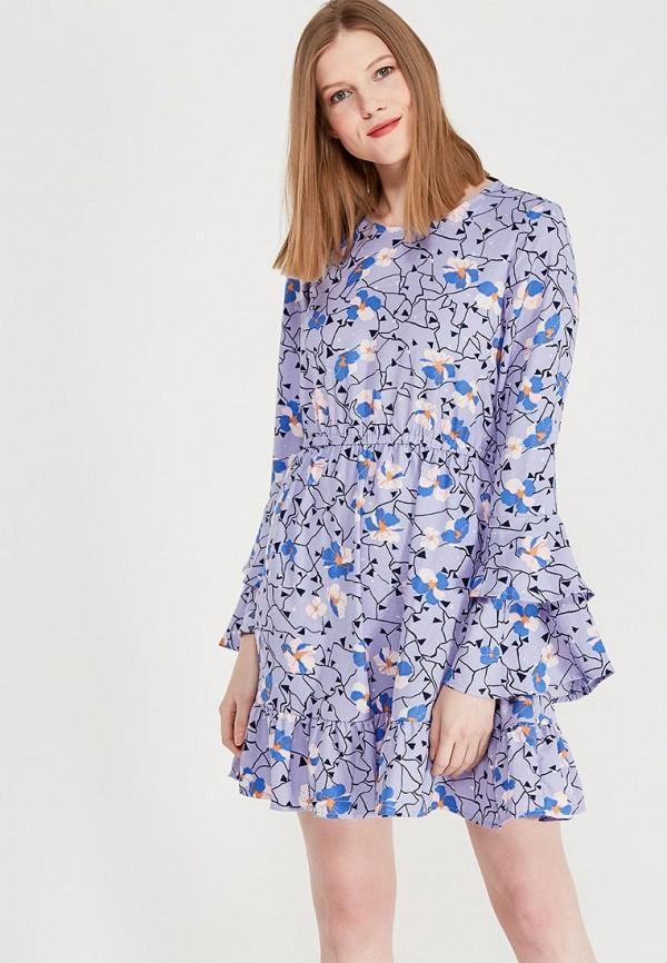 Купить Платье Vero Moda, VE389EWZKU10, фиолетовый, Весна-лето 2018