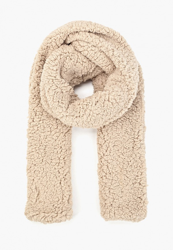 женский шарф vero moda, бежевый