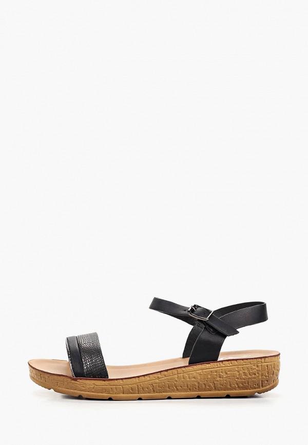 женские сандалии vh, черные