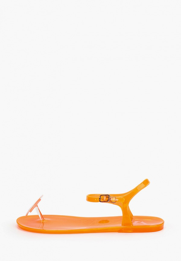 женские сандалии vh, оранжевые