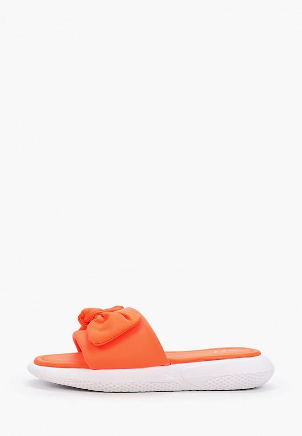 женское сабо vh, оранжевое