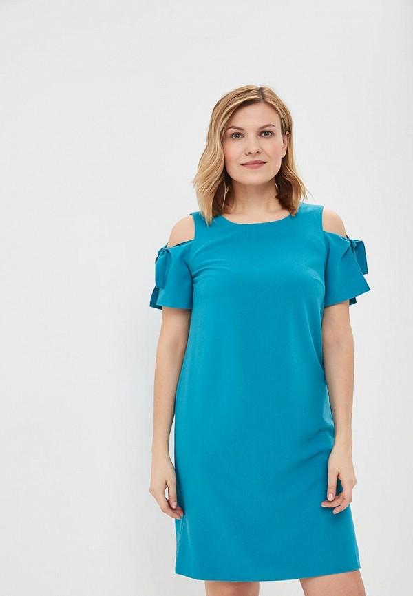 Купить Платье Vis-a-Vis, VI003EWAZYG3, бирюзовый, Весна-лето 2018