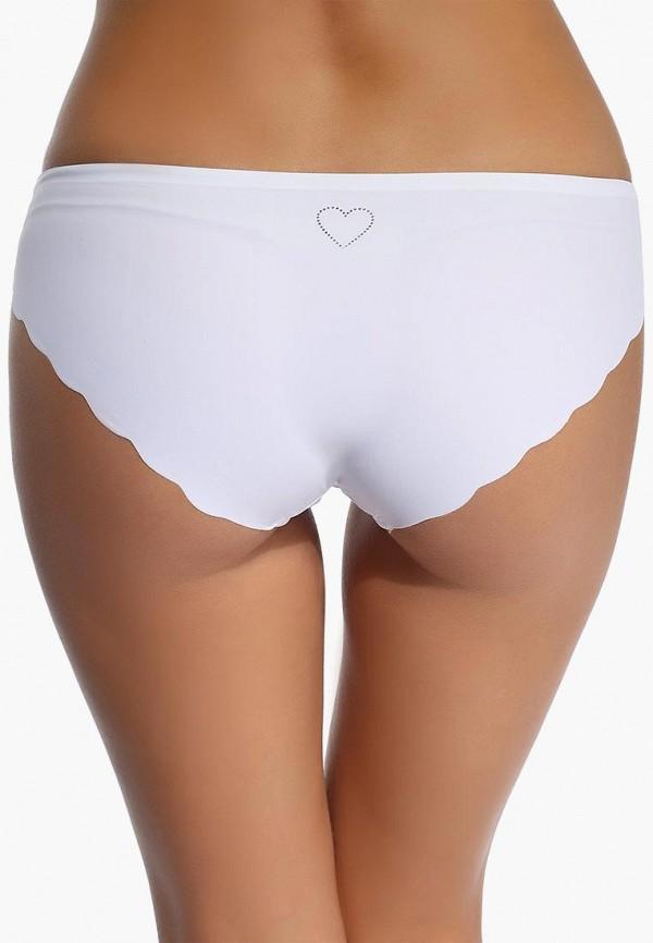 Фото 5 - женские трусы Vis-a-Vis белого цвета