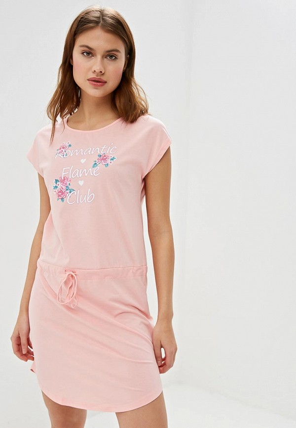 женское платье vis-a-vis, розовое