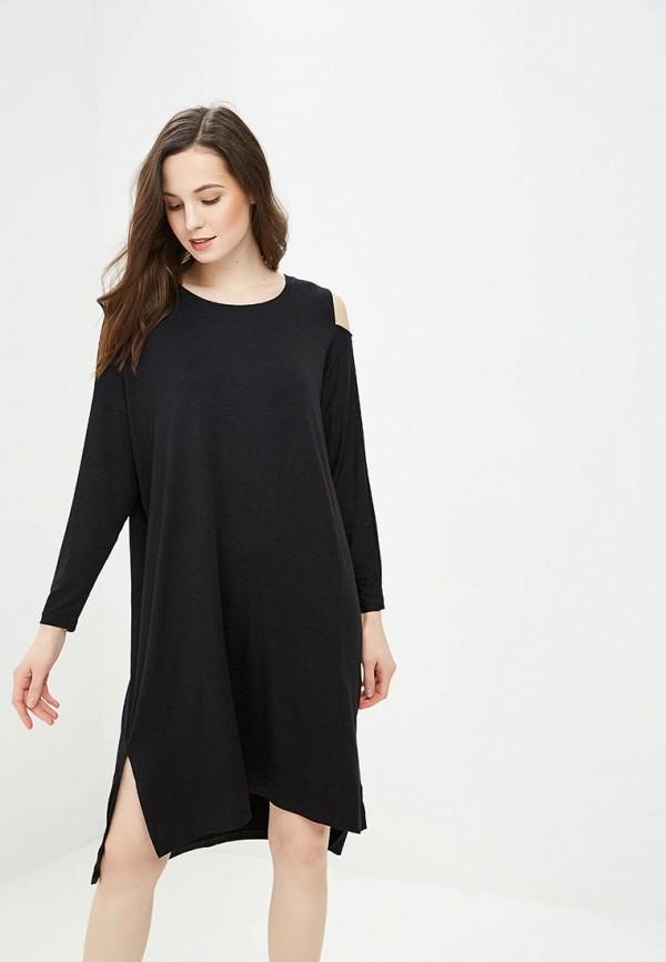 женское повседневные платье vis-a-vis, черное