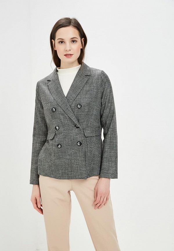 женский пиджак vis-a-vis, серый