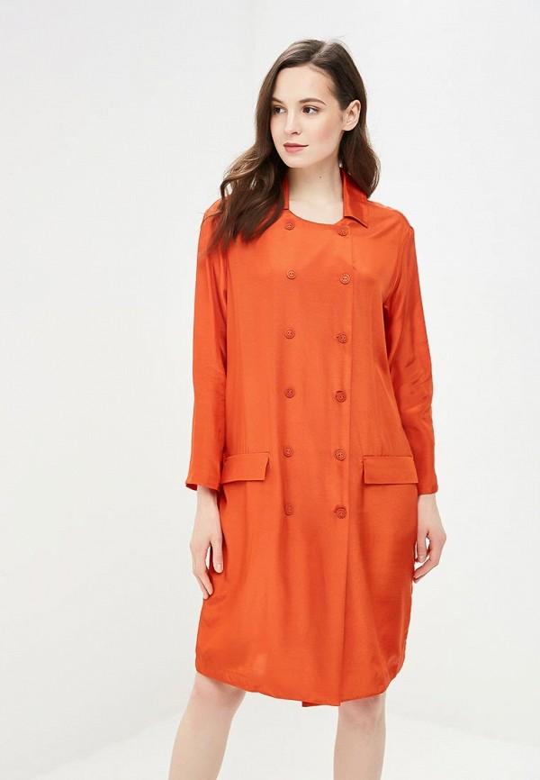 женское платье vis-a-vis, оранжевое
