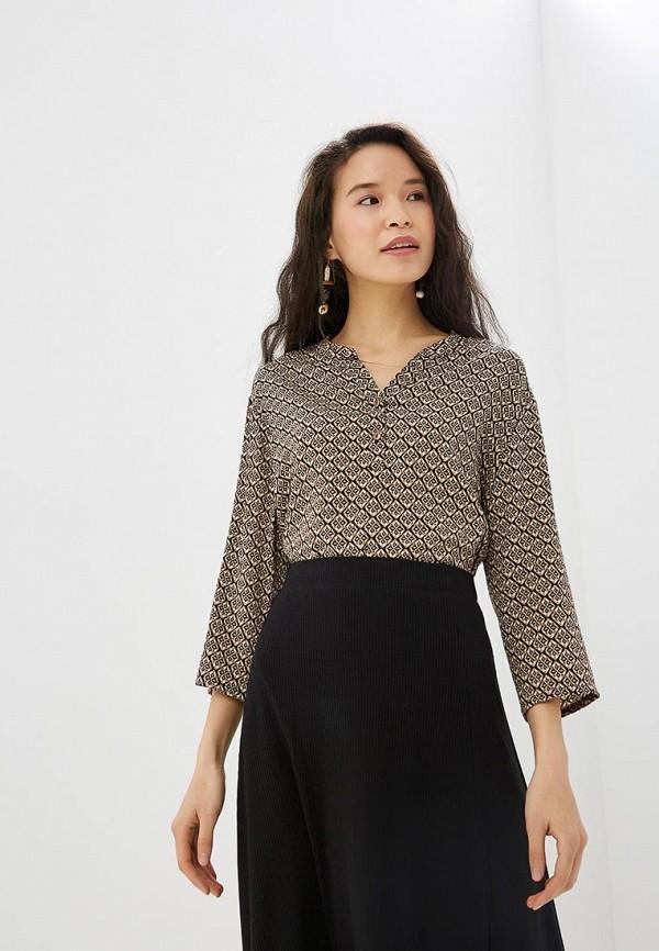 женская блузка vis-a-vis, коричневая
