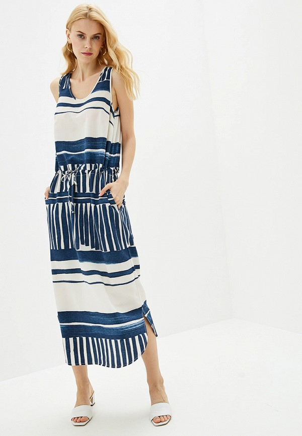 женское повседневные платье vis-a-vis, синее