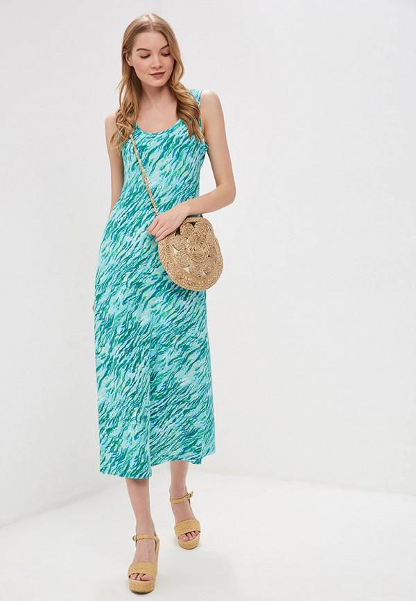 женское платье vis-a-vis, голубое