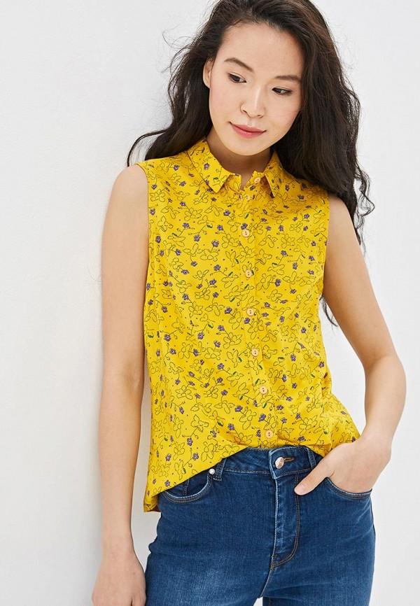женская блузка vis-a-vis, желтая
