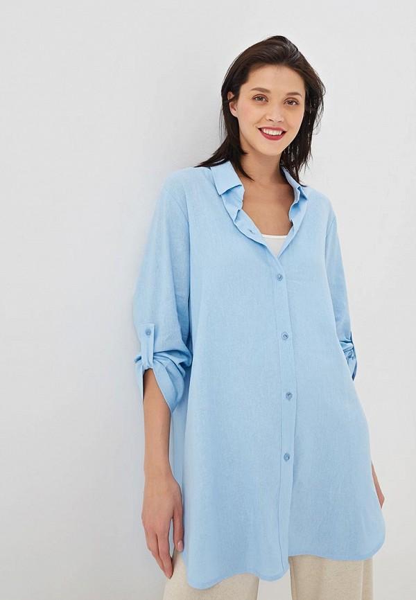 женская блузка vis-a-vis, голубая