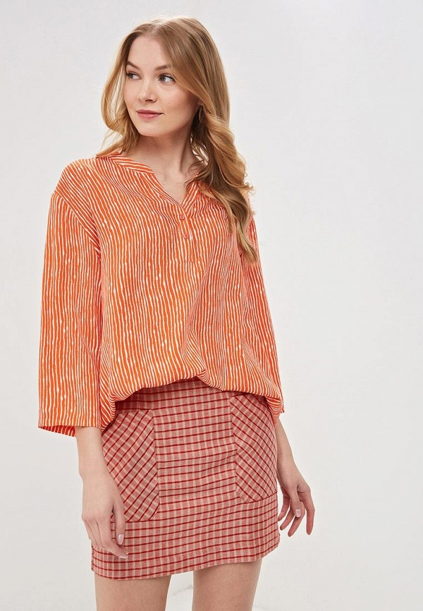 женская блузка vis-a-vis, оранжевая