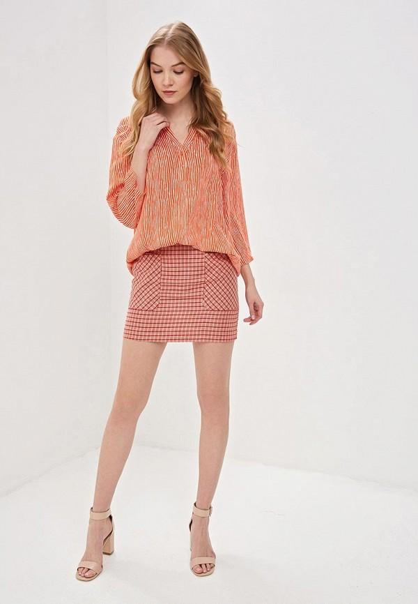 Фото 2 - женскую блузку Vis-a-Vis оранжевого цвета