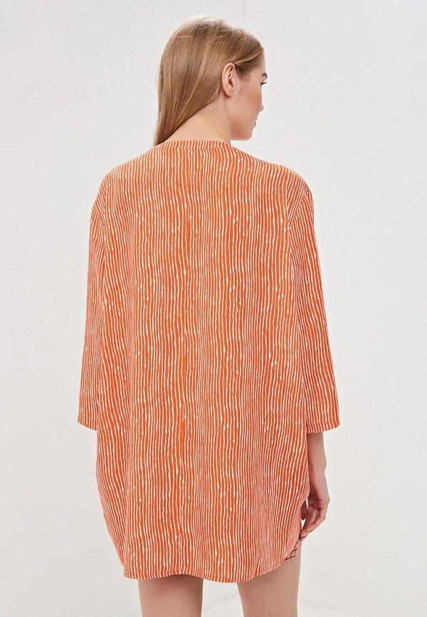 Фото 3 - женскую блузку Vis-a-Vis оранжевого цвета