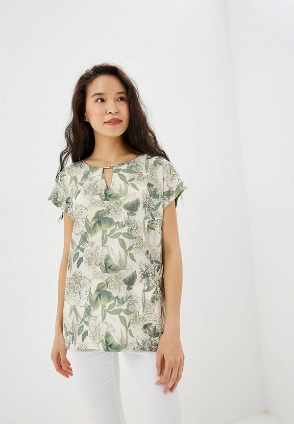 женская футболка vis-a-vis, зеленая