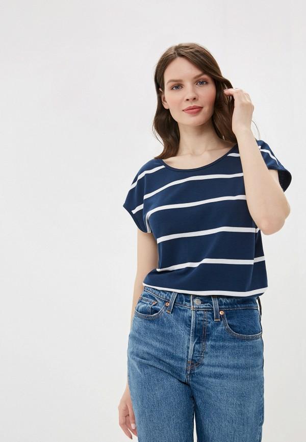 женская футболка vis-a-vis, синяя