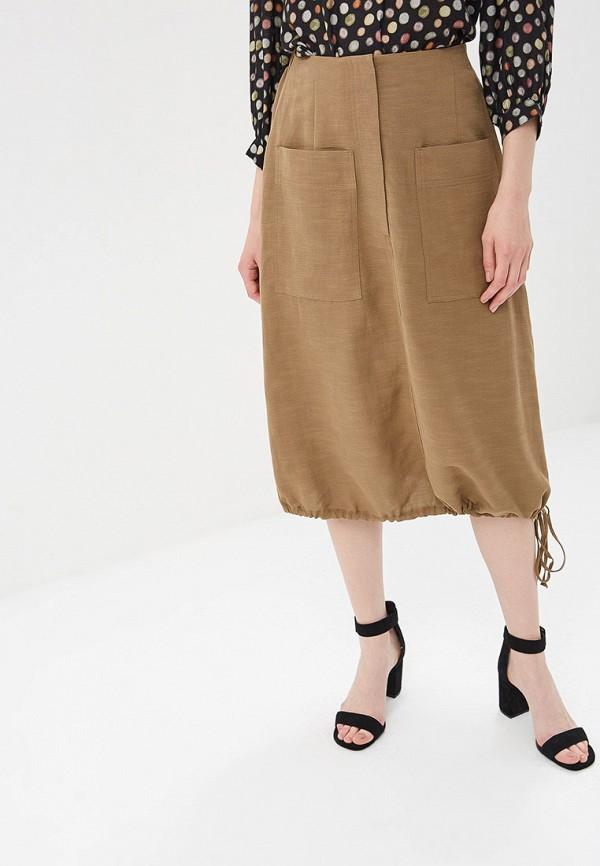 женская юбка vis-a-vis, коричневая