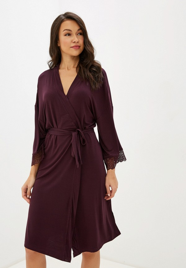 женский халат vis-a-vis, фиолетовый