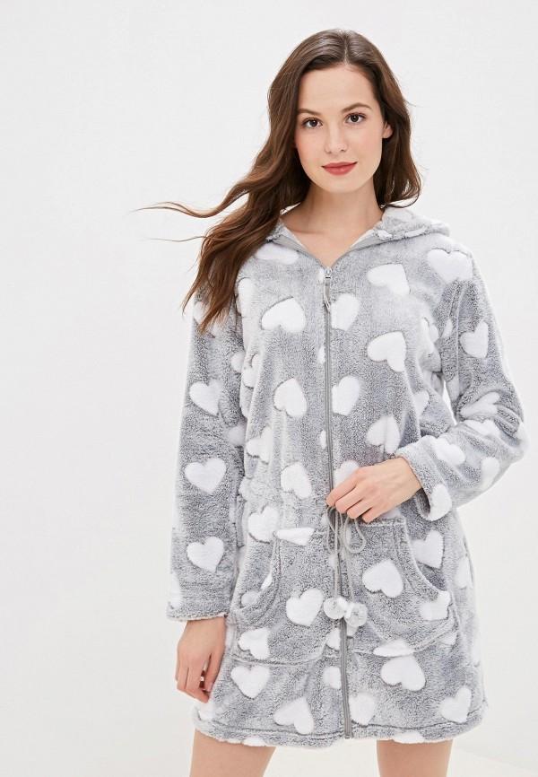 женский халат vis-a-vis, серый