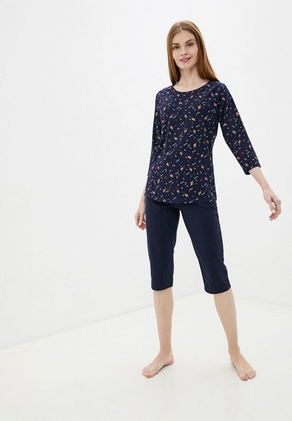 женская пижама vis-a-vis, синяя