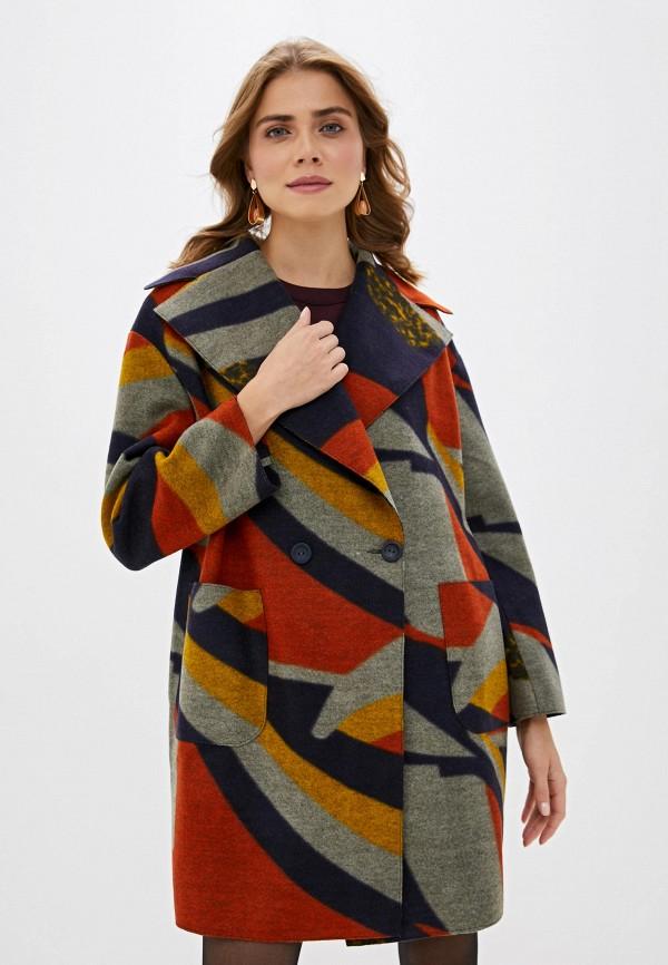 женское пальто vis-a-vis, разноцветное
