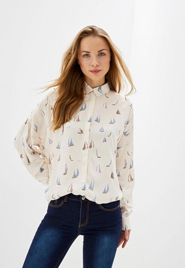 женская блузка vis-a-vis, бежевая
