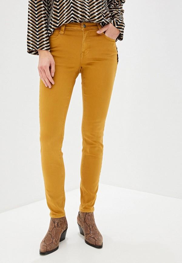 женские повседневные брюки vis-a-vis, коричневые