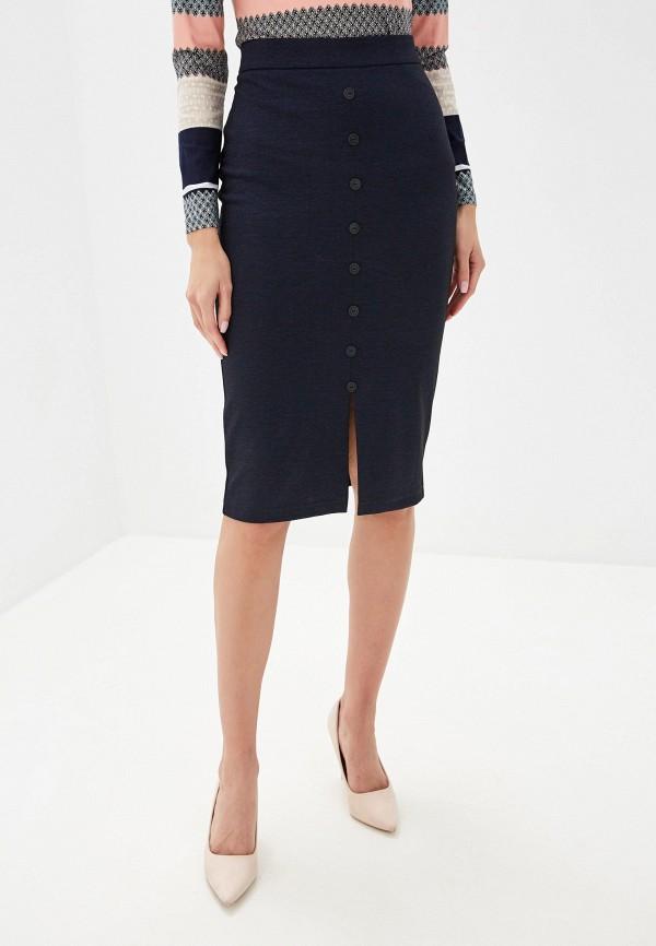 женская зауженные юбка vis-a-vis, синяя