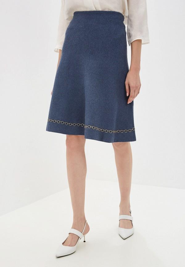 женская юбка vis-a-vis, синяя