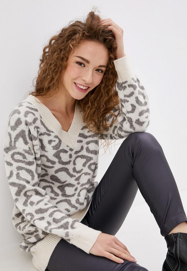 женский пуловер vis-a-vis, белый