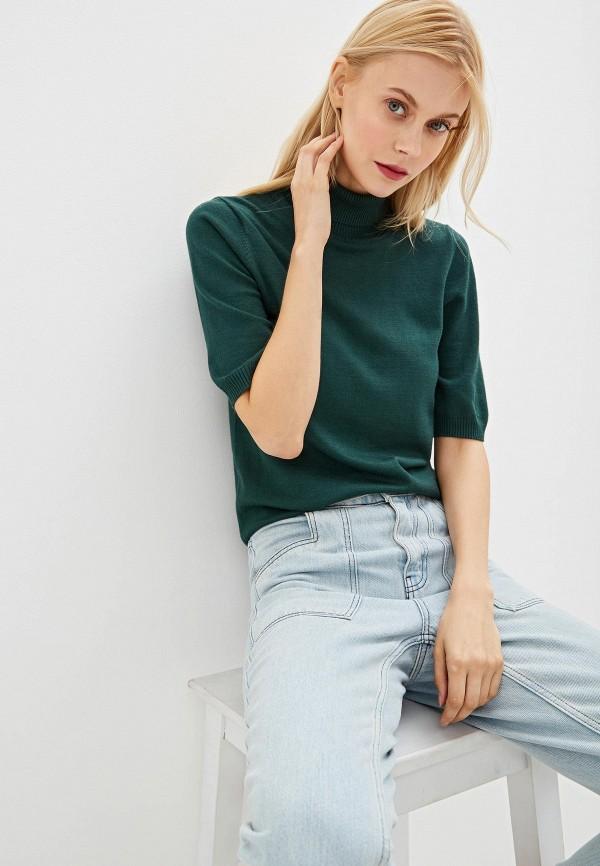 женская водолазка vis-a-vis, зеленая