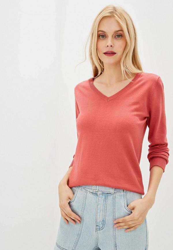 женский пуловер vis-a-vis, розовый
