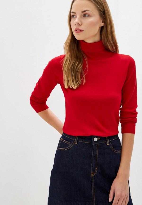женская водолазка vis-a-vis, красная