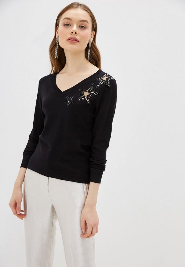 женский пуловер vis-a-vis, черный