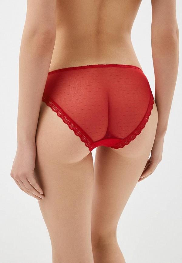 Фото 6 - женские трусы Vis-a-Vis красного цвета