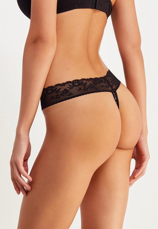 Фото 2 - женские трусы Vis-a-Vis черного цвета