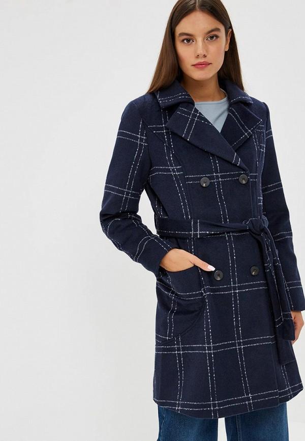 женское пальто vila, синее
