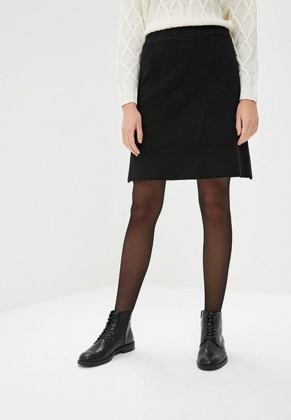женская юбка vila, черная