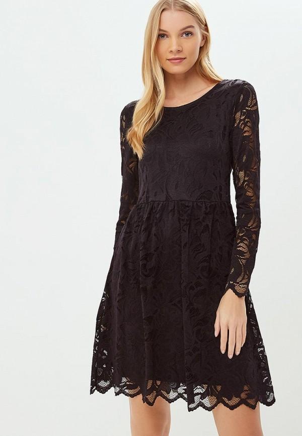 повседневные платье vila для девочки, черное