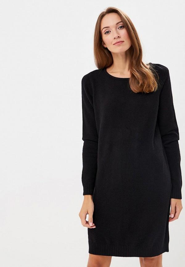 женское платье vila, черное