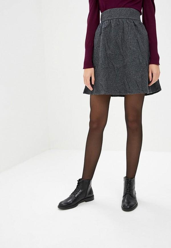 женская юбка vila, серая
