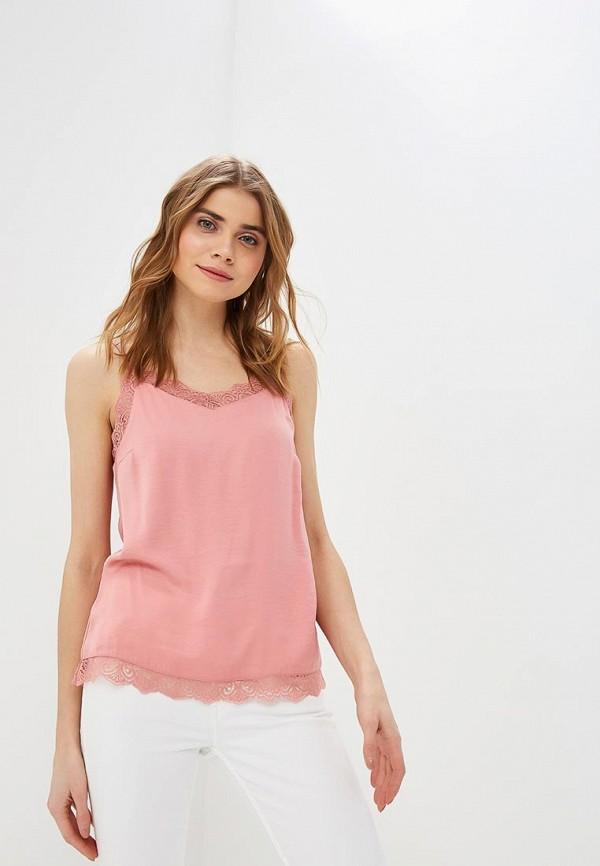 женский топ vila, розовый