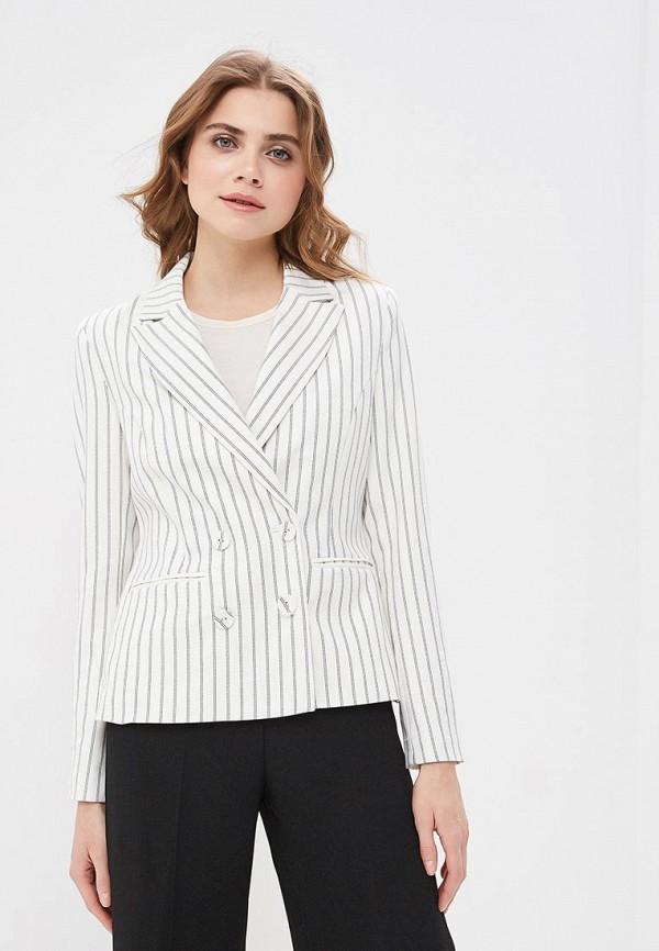 женский пиджак vila, белый