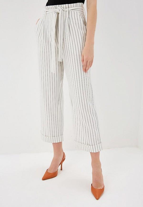 женские повседневные брюки vila, белые