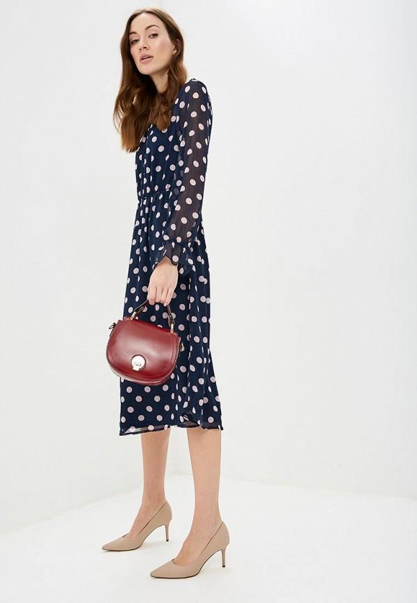 женское повседневные платье vila, синее