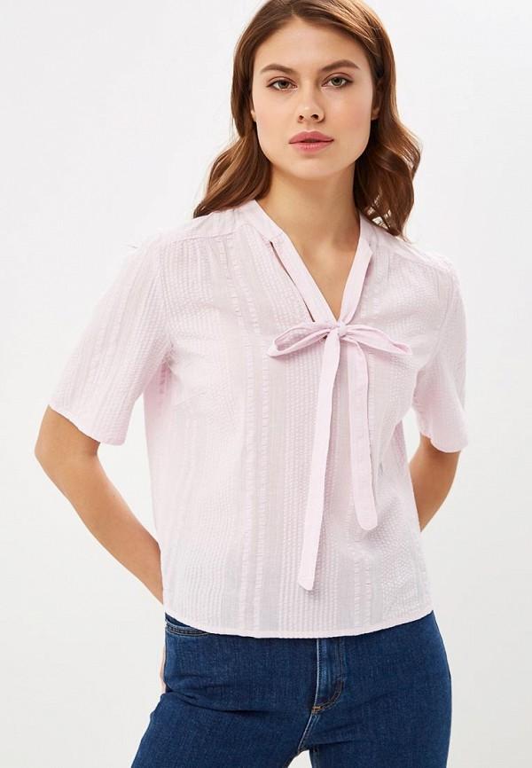 женская блузка vila, фиолетовая